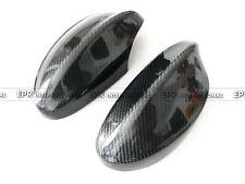 EPR 2Pcs Side Mirror Protect Stick Cover For BMW 05-08 E90 Coupe Carbon Fiber