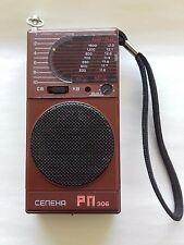 "Vintage Russian Soviet Transistor Radio ""SELENA RP - 306""."