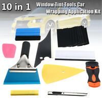 28Pcs Car Window Film Tint Tools Kit Vinyl Tinting Scraper Squeegee Applicator