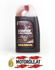 1l MANNOL 7805 Scooter 2-Takt Premium vollsynthetisches Motoröl 1 Liter