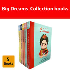 Little People Big Dreams 5 Books Collection Set Amelia Earhart Marie Curie