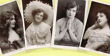 ☆ EDWARDIAN THEATRE / MUSIC HALL ACTRESS / DANCER ☆ 1900s Postcards LIST 2