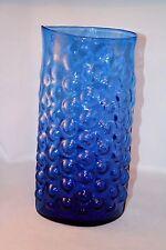 Huge Mid Century Blenko Bubble Wrap Vase Wayne Husted 1960s Art Glass Signed