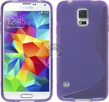 Soft S TPU Silicone Skin Case Cover Back Pouch For Samsung Galaxy S5 / S5 Neo