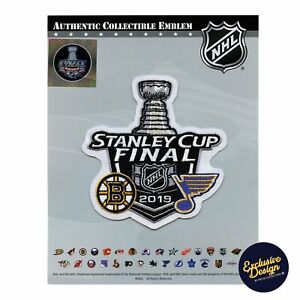 2019 Official NHL Stanley Cup Final Dueling Patch Boston Bruins St Louis Blues