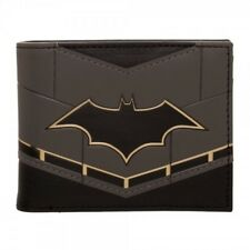 OFFICIAL DC COMICS - BATMAN REBIRTH SUIT UP BLACK BI-FOLD WALLET (BRAND NEW)