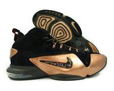 NIKE New Zoom Penny Hardaway VI NBA Retro Black/Copper 749629-001 Men's sz 10.5