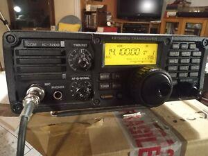 Icom IC-7200 HF/50MHz 100W Transceiver.