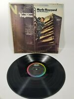 Merle Haggard And The Strangers, I'm A Lonesome Fugitive LP, Capitol ST 2702 C2