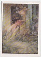 CP TABLEAU GEORGES DESVALLIERES Portrait de Madame P Blanchard