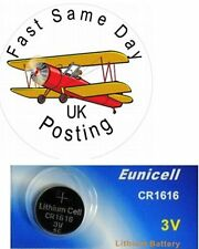 1 x  1616 CR1616 DL1616 BR DL ECR button cell 3V Lithium Battery