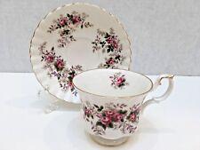 Royal Albert Bone China Teacup & Saucer Lavender Rose England