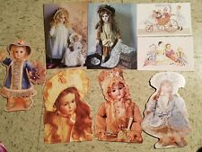 Current Doll Cards Carlton Yesterday's Treasures doll postcards Sisters Attic