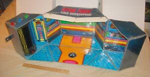 Vintage Mego 1975 Star Trek USS ENTERPRISE Bridge Playset Gift Set Transporter