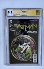 Batman #38 CGC 9.8 Signed By Snyder, Capullo And Kubert DC Comics