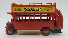 Vintage 1982 Models of Yesteryear Schweppes Vehicle Matchbox Free Shipping