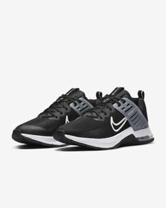 Nike Air Max Alpha UK Size 8 Men's Trainers Black Running Shoes