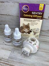 SENTRY Calming Diffuser Cat & Dog 1.5 oz Brand New No Box. Diffuser & 2 Refills!
