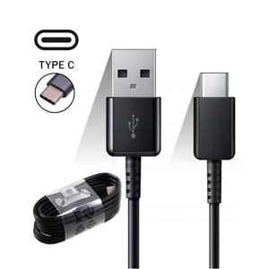 Fast Charger Samsung Galaxy S8 S9 S10+ S20 Plus Type C USB-C Data Charging Cable