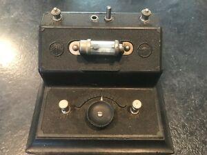 Brownie Number No 2 Vintage, 1920s BBC stamped Crystal Radio Set