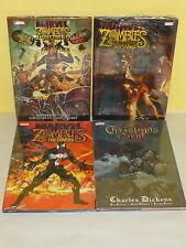 4 MARVEL ZOMBIES HC SET - Supreme DESTROY! Christmas Carol COVERS - Sealed / New