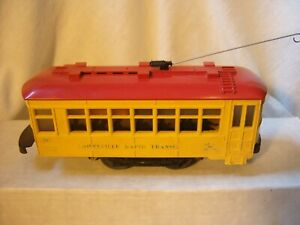 "Lionel #60 ""Lionelville Rapid Transit"" Trolley"