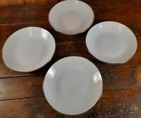 Set of 4 Salad Bowls Winterling Bavaria Germany China Snow White Dinnerware