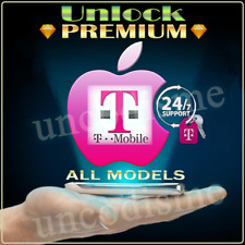 100% TMobile USA Unlock PREMIUM Service ALL IMEI Blacklist Apple iPhone 4S-7 8 X