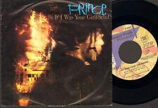 "PRINCE  7"" Inch SINGLE If I Was Your Girlfriend SHOCKADELICA 1987"