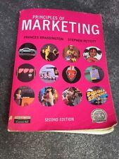 PRINCIPLES OF MARKETING - FRANCES BRASSINGTON -STEPHEN PETITT - 2nd EDITION BOOK