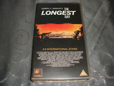 VHS VIDEO TAPE.....THE LONGEST DAY.........(PG) free postage.