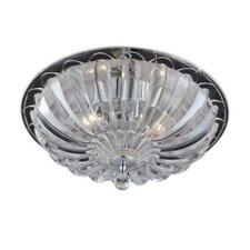 Home Decorators Collection Parkhurst Collection 3-Light Flushmount, 22943-HBU