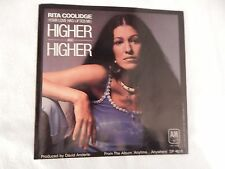 """RITA COOLIDGE """"Higher and Higher"""" PICTURE SLEEVE! BRAND NEW! MINT!"""