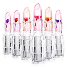 6 Couleurs Rouge À Lèvres Fleur Changement De Couleur Durable Hydratant Magie