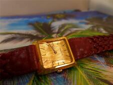 Beautiful, Elegant, Gold Plate TISSOT Ladies Faceted Crystal 27mm Quartz