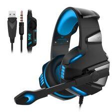 3.5 mm Gaming Kopfhörer mit Mikrofon Headset für Laptop PC PS4 Slim Xbox One 360