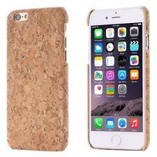 Apple iPhone 6 6S (4,7) KORK SCHUTZ HÜLLE HOLZ NATUR HARD CASE COVER