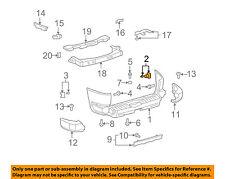 TOYOTA OEM FJ Cruiser Rear Bumper-Cover Side Support Bracket Right 5215535030