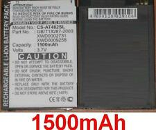 Batería 1500mAh tipo GB/T18287-2000 XWD0002731 XWD0009258 Pour ROVERPC N6