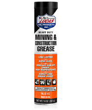 LUCAS HEAVY DUTY MINING & CONSTRUCTION GREASE #10881 (8)X140Z.CARTRIDGE USA