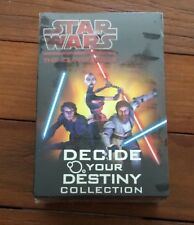 NEW Star Wars-The Clone Wars - Decide Your Destiny Collection - 4 book Box Set