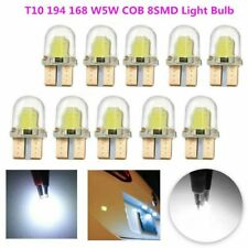 20x T10 194 168 W5W COB 4 SMD LED CANBUS Bright White Silica License Light Bulb