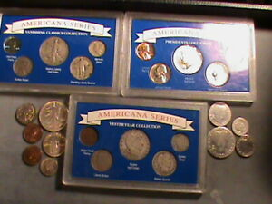 16- 90% Silver Pluss More, 25 coins in all  lot