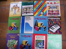 Lot 13 Bastien Alfred Level 2 3 NEW Theory + 7 more Piano Music Books