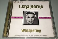 Whispering [Limited Edition] By Lena Horne  (CD, 1996, Dove Music) DM CA 8138-2