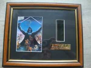 Star Wars Empire Strikes Back Framed Film Cell And Postcard Rye By Post