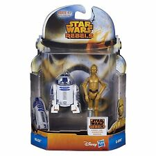 Hasbro Star Wars Rebels  R2-D2 & C-3PO Action Figure 10cm