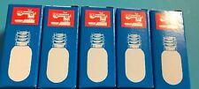 Glühbirne, Lampe- Glühlampe für Nähmaschine Schraubfassung E14-  5 Stück