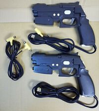 PS2 GUNCON 2 NPC-106 (2 Gun Controllers + 1 Cable)  Sony Playstation 2 Japan#17