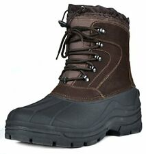 DREAM PAIRS Men's Insulated Waterproof Winter Water Proof Snow Boots US Size